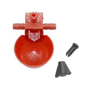 Image 5 - 50 Sets Red Quail Waterer Animal Feeders Automatic Bird Coop Feed Poultry Chicken Fowl Drinker Water Drinking Cups