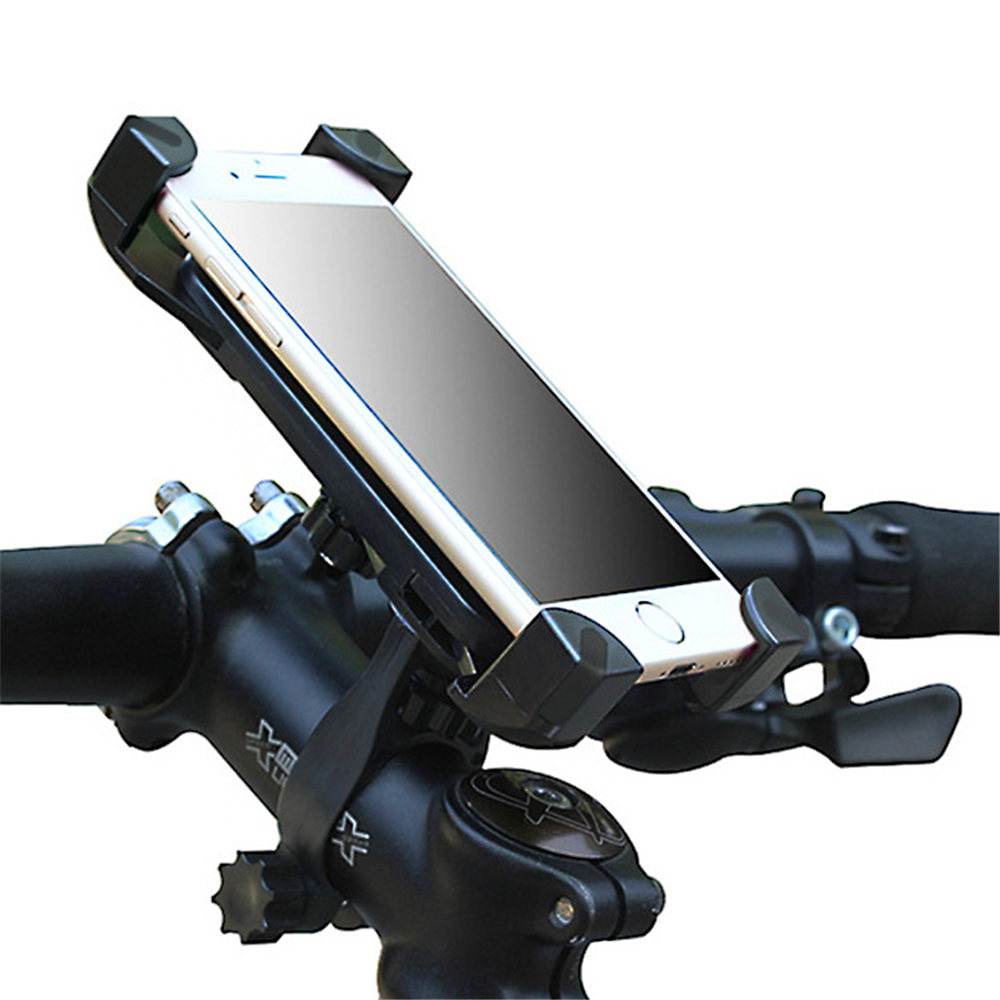 Adjustable Bicycle Phone Holder Made Of PVC Material For Universal Mobile Cell Phone
