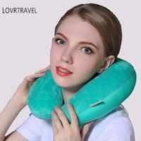 Sous Le Cou Voyage Oreillers Pour Dormir Mousse Particules Avion Cou Oreiller Voyage De Massage Confortable Coussin Doux Oreiller