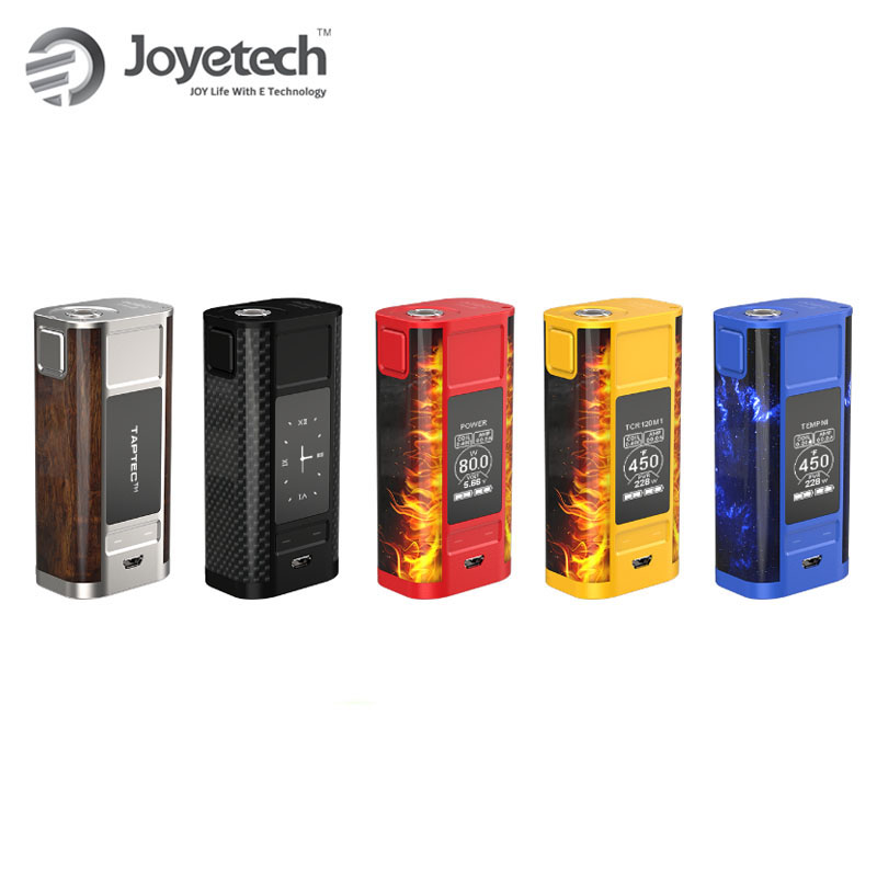 Original 228W Joyetech CUBOID TAP TC MOD Vape With ProCore Aries Tank Electronic Cigarette Vape Cuboid Tap TAPTEC Tech Box Mod