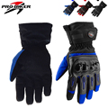 2016 Motorcycle Gloves Racing Waterproof Windproof Winter Warm Leather Cycling Bicycle Cold Guantes Moto Luvas Moto-protection