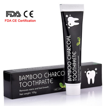 Tooth Care Bamboo Natural Activated Charcoal Teeth Whitening Toothpaste Oral Hygiene Dental FDA CE Certification Dropshipping