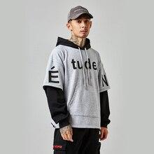 2019 Summer New Leisure Loose Coloured Letters Printing Hat Clothes Street Tide Hoodies Harajuku Streetwear Hip Hop
