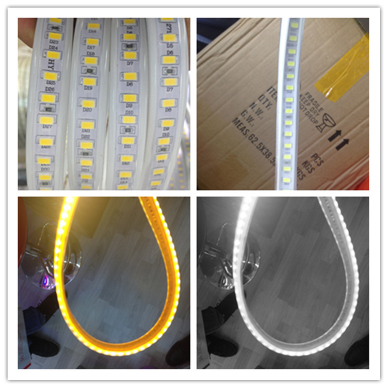 Summer New LED Tape Waterproof IP65 120led/m 1-10m Hotel Home Decoration Outdoor LED Strip Light 5630 SMD free ship