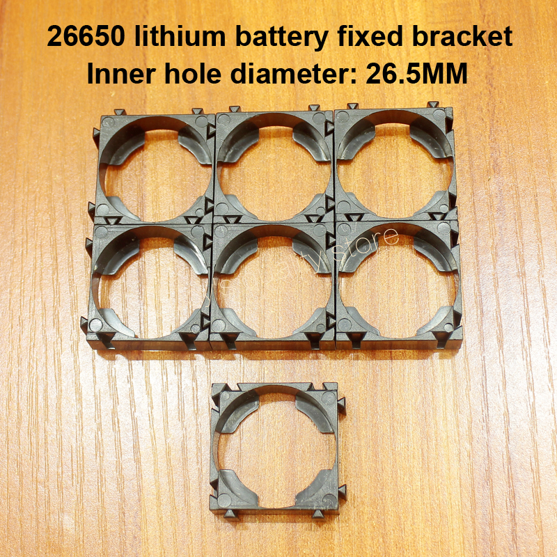 10pcs/lot 26650 Battery Combination Bracket ABS Fire Retardant Plastic Arbitrary Combination Universal Bracket Combination DIY