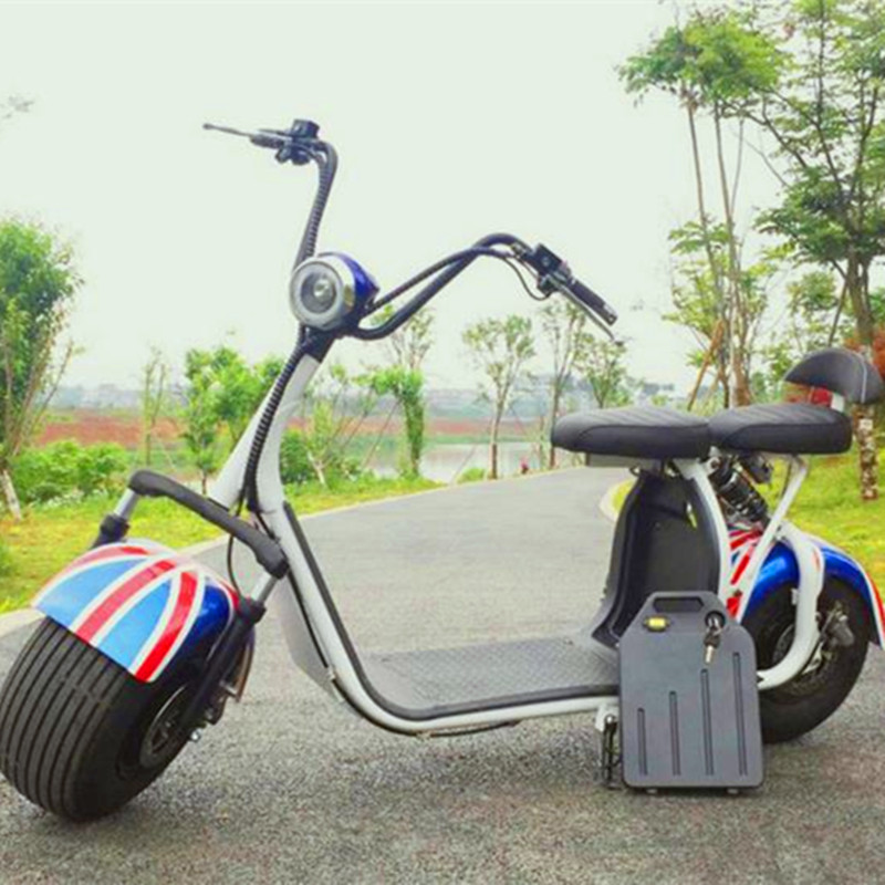 60V 20Ah 1000W Hign Power Citycoco Electric Scooter 20ah removable battery