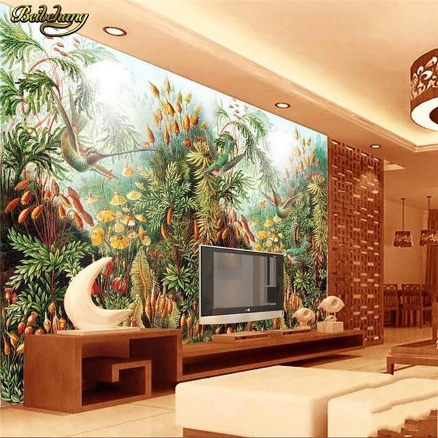 beibehang custom photo wallpaper large mural wall stickers hand