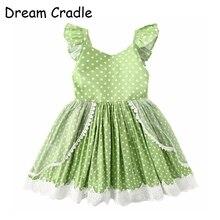 Dream Cradle / Australia Baby Girls Dress Polka Dots Kids Romantic Outfit