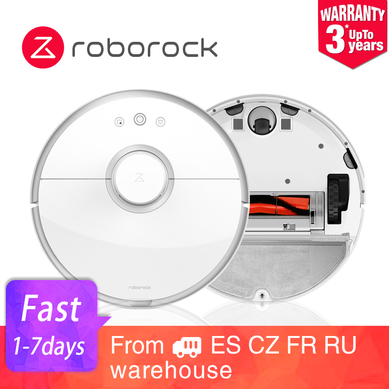 New Roborock S50 S55 XIAOMI MI Robot Vacuum Cleaner 2 for Home Automatic Sweeping Dust Sterilize