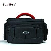 Jealiot DSLR bag for Camera Bag Photo Fashion SLR Shoulder lens Storage Case for Canon 70d Nikon sony alpha 6000 Camere flash