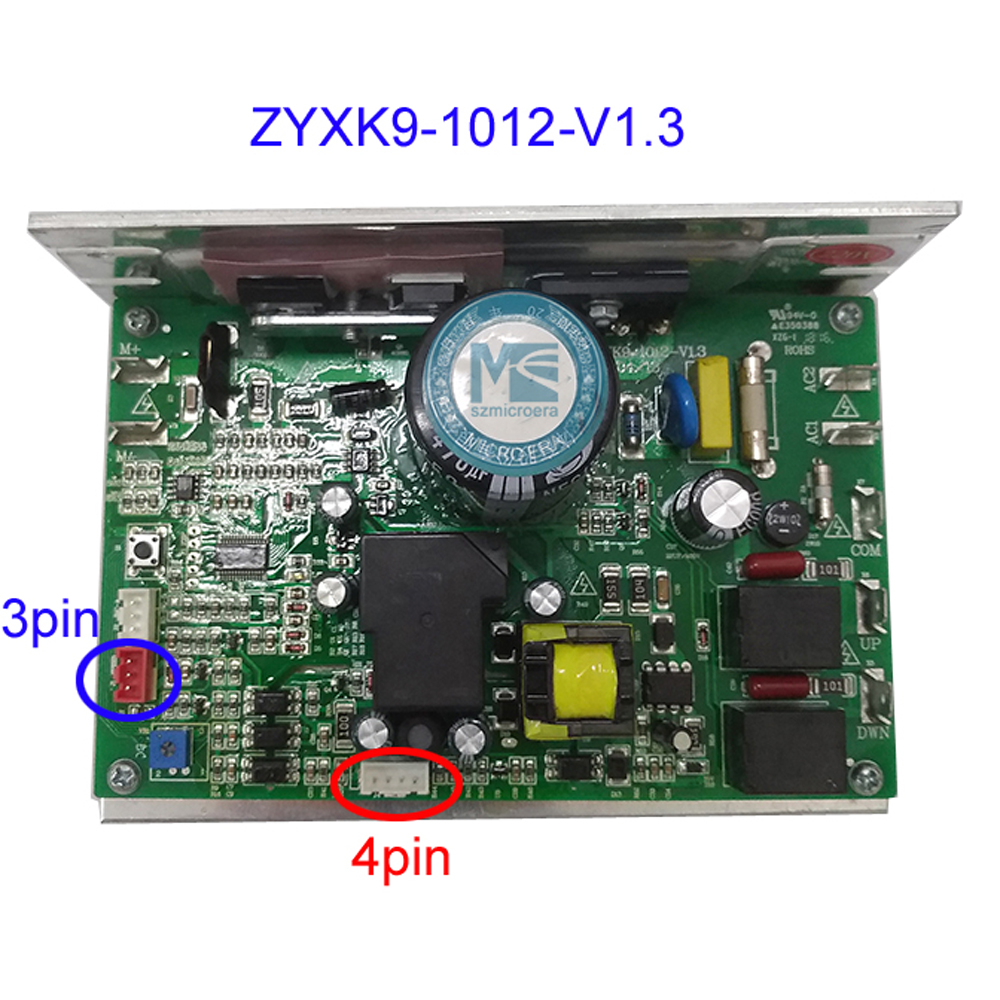 Loopband motor controller printplaat ZYXK9 1012 V1.3 voor algemene loopband motor speed control-in AC/DC-adapter van Consumentenelektronica op  Groep 1