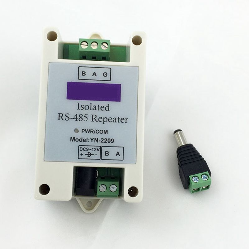 Industrial Grade Isolated 485 Repeater Communication Extension RS485 Amplifier DC9-24V,12V Y2209