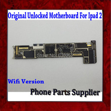 1Pcs 100% Original Unlocked Wifi Version Mainboard For ipad 2 Motherboard with Chips,Good Working Free Shipping