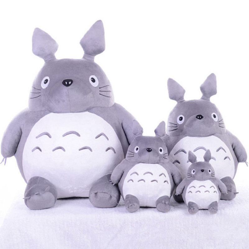 Totoro Plsuh Toys  Soft suffed animal cartoon pillow cushion cute fat cat  chinchillas children birthday Christmas gift 12
