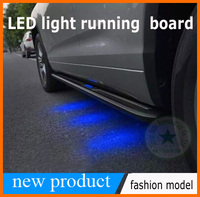 LED işık için koşu kurulu yan basamak çubuğu NX300h NX200T NX, yeni tasarım,