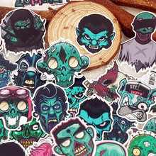 33pcs HORROR ZOMBIE style photo album Scrapbook waterproof decoration stickers DIY Handmade Gift Scrapbooking sticker