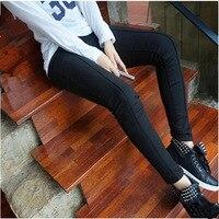 Plus Size Women Pencil Pants 2014 Fashion Long Trousers XL 4XL High Quality Female Tight Trousers