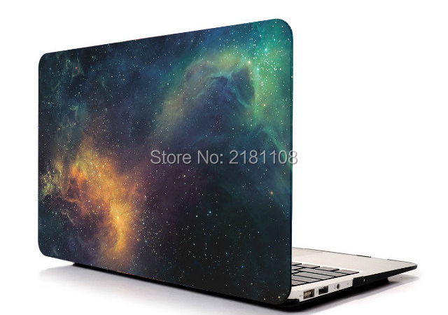 Starring Space Hard Shell Case For Galaxy Apple Macbook Air Pro 11 13 15 Inch Retina Case