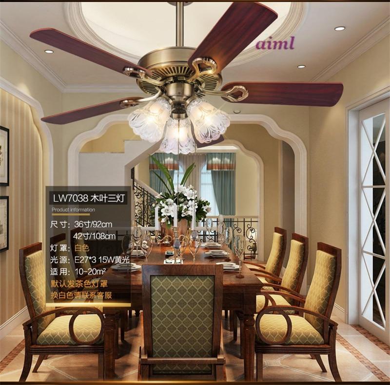 Ventilatorska svjetiljka ventilacijska svjetiljka dnevna soba - Unutarnja rasvjeta - Foto 3