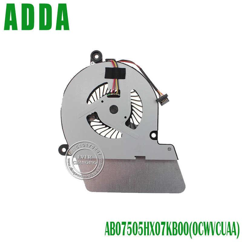 New cpu original ventilador de refrigeração para toshiba u900 u940 u945 ab07505hx07kb00 laptop cpu refrigeração refrigerador de ventoinha 0 cwvcuaa dc28000c6a0