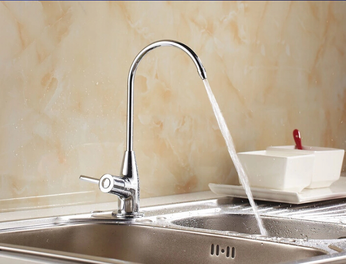 High quality brass material no lead 1 2 size kitchen purifier water faucet direct drinking water