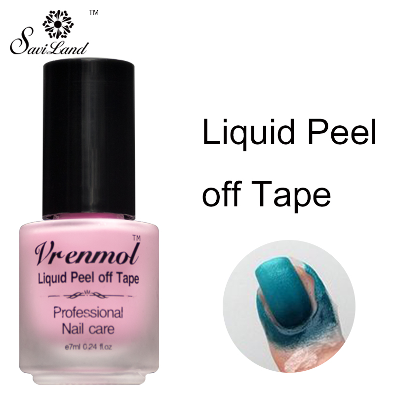 Aliexpress Vrenmol Skin Protected Vernis L Off Nail Glue Liquid Art Tape Latex Fingernails Palisade Care Gel Polish From Reliable