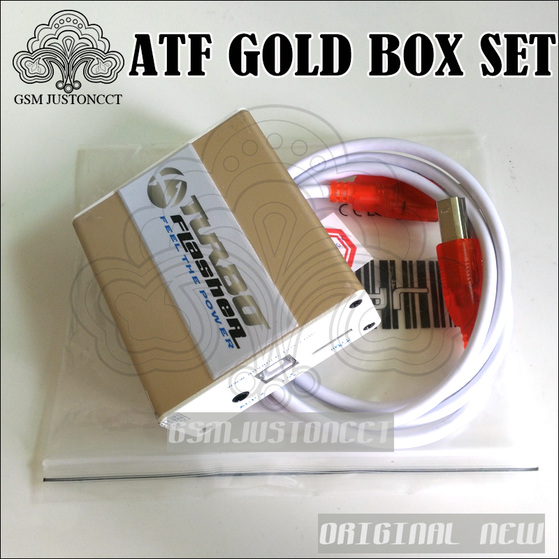 100% Original Advance Tubro boîte atf boîte atf or boîte atf édition limitée boîte avec activation SL1 SL2 SL3 JTAG EMMC