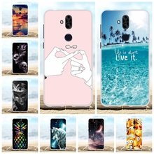 For Asus Zenfone 5 Lite ZC600KL Case Soft TPU Cover Love Pattern 5Q Bag