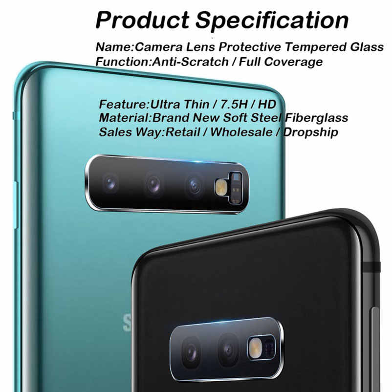 for Samsung Galaxy A80 A40s A40 M30 A2 Core Back Camera Lens Screen Protector Film Tempered Glass Case Guard mobile phone