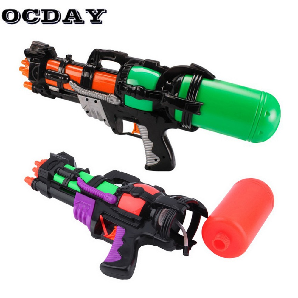 OCDAY Big 44CM High Pressure Large Capacity Water Gun Pistols Toy Water Guns Large Children Guns Kids Outdoor Games Shooting Toy