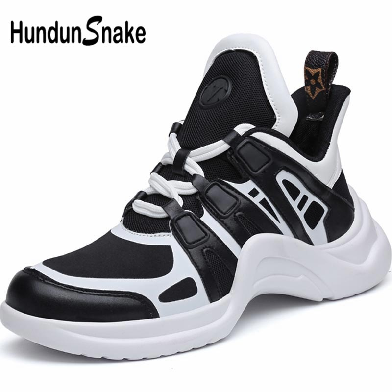 Hundunsnake High Top Women's Sneakers Summer Sport Shoes For Women Running Shoes Women Running Shoes Sports Black Footwear A-065