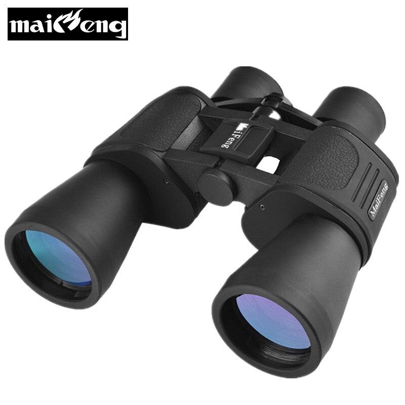 Maifeng 20x50 jumelles professionnelles HD grand oculaire facile à mettre au point télescope binoculaire Lll vision nocturne pour la chasse à l'infrarouge