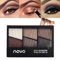 1 pcs Cosméticos 6 Cor Nu Brilhando Maquiagem Nude Básico Paleta Fosco Sombra de Olho Profissional
