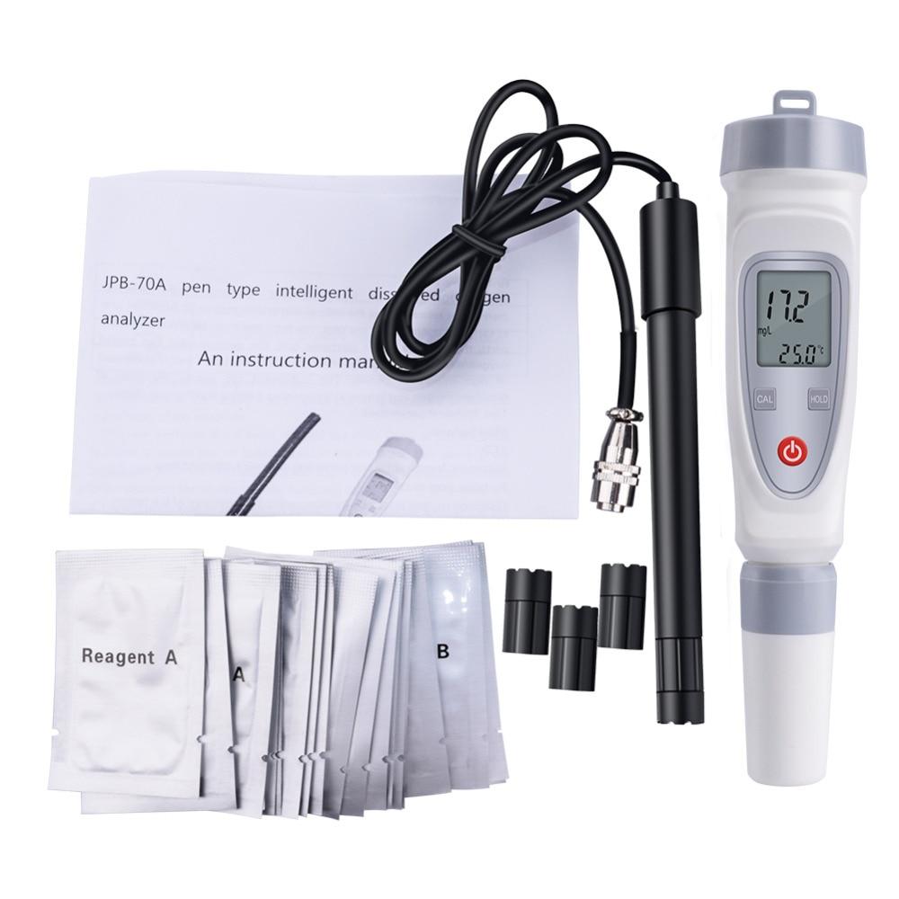 JPB-70A Portable Digital Pen Dissolved Oxygen Meter Dissolved Oxygen Meter Water Quality Tester Dissolved Oxygen Detector