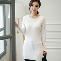 Women S Sweater 100 Cashmere Pullovers Hot Sale O Neck Long Design Soft Sweaters Lady High