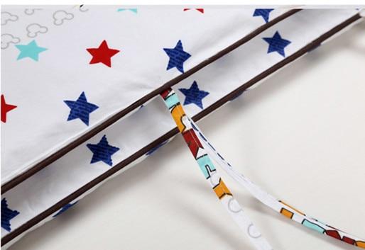 Promotion! 6/7PCS Cartoon baby bedding set 100% cotton baby bed sheet toddlers crib bedding set , 120*60/120*70cm
