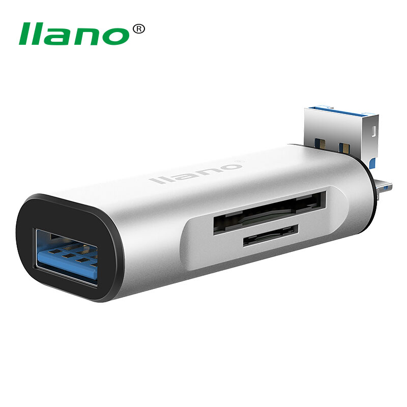 llano Multifunction Micro USB OTG Adapter Male to USB3.0 Female Converter Android phone Card Reader for Samsung Xiaomi Huawei