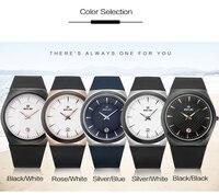 BELBI New Men Wristwatches PU Top Quality Sports Man Quartz Watches China Brand Black Watch Rose Gold Relogio Masculino