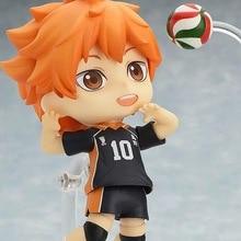 Huong Anime Figure 10 CM Nendoroid Haikyuu!! Hinata Syouyou #461 PVC Action Figure Toy Doll Sport Toy