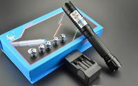 Most Powerful Burning Laser Torch 445nm 10000m Focusable Blue Laser Pointers Flashlight Burn Match Candle Lit