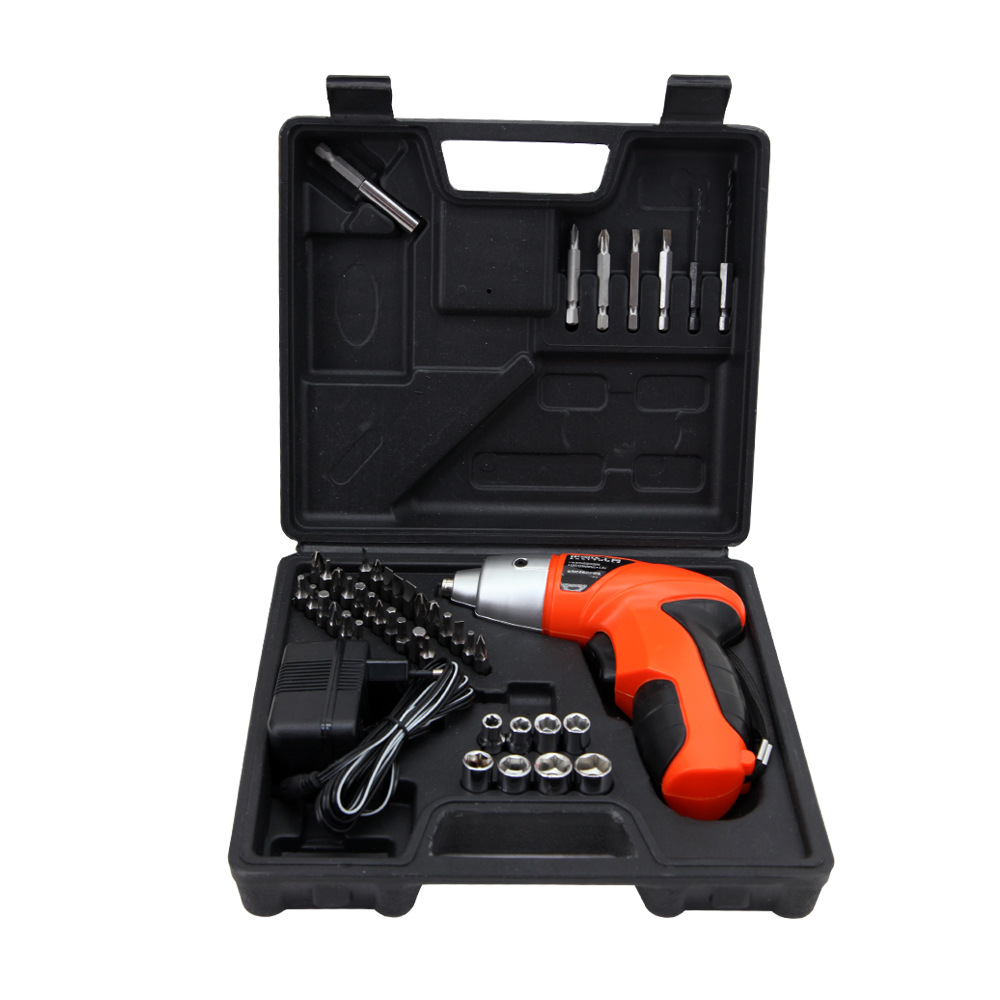 4.8V Electric Screwdriver Set Kit Mini LED Cordless Power Drill Portable Driver Tool --M25 внутренний картридер ginzzu gr 116b черный
