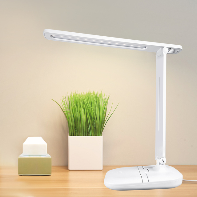 White Foldable Table Lamp