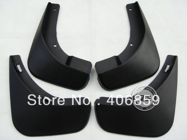 2007-2012 Skoda Octavia Soft plastic Mud Flaps Splash Guard  njm