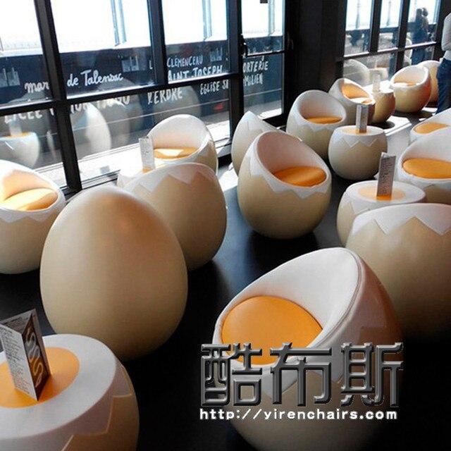 Fresco cabina de fibra de vidrio egg chair silla de huevo egg chair ...