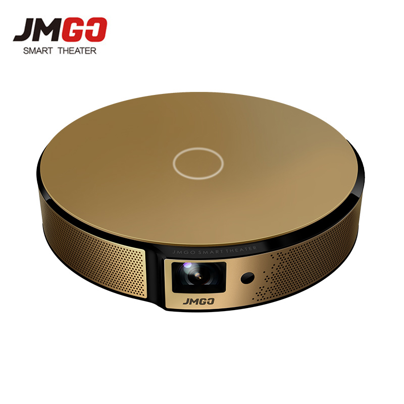 Jmgo E8 Mini Projector Full HD Led Projector 3D Pico Motorized Building Android Bluetooth WIFI For