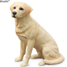 Mnotht 1/6 Labrador Retriever Sitting Posture Simulation Mini Dog Model Toy Scene Accessory for Action Figure Collection Gifts цена и фото