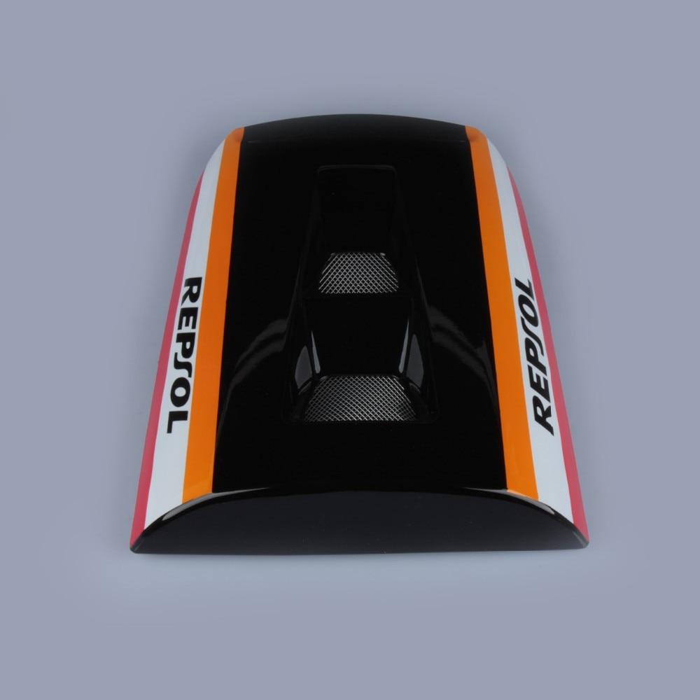 Black Rear Seat Cover Cowl For Honda CBR1000RR CBR 1000 RR 2004 - 2007 2005 2006 Brand New new motorcycle rear seat cover cowl for honda cbr1000rr 04 07 2004 2007 2005 2006 carbon fiber free shipping c20