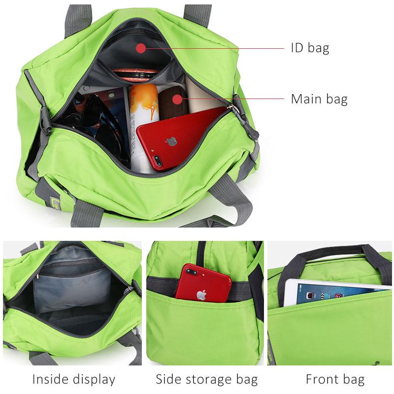 Image 4 - Scione Travel Luggage Handbags Women High Quality Sport Duffel Shoulder Bags Men Simple Casual Fitness Outdoor Crossbody BagTop-Handle Bags   -