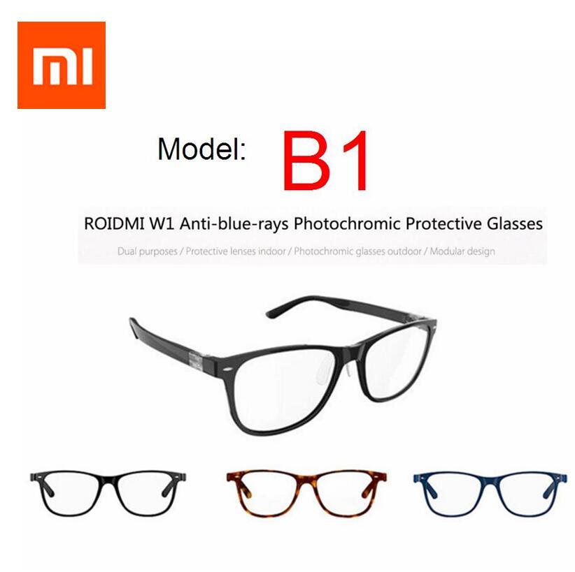 Version photochromique Xiaomi B1 ROIDMI détachable Anti-rayons bleus lunettes de protection protecteur des yeux pour homme femme jouer téléphone/PC