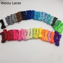 (30 paia lotto) Weiou 47 Colori Cromatici Bootlace Scarpa Da Tennis Lacci  delle scarpe Singolo Piatto Strato Lacci Delle Scarpe . 6c4d8e376cf